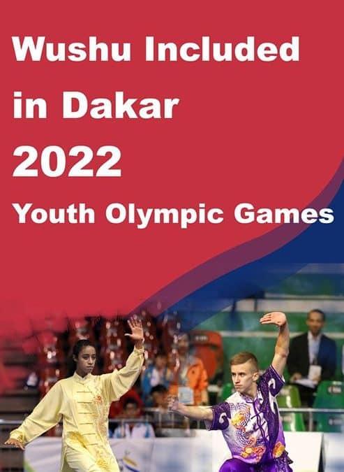 Wushu Olímpico en Dakar 2022